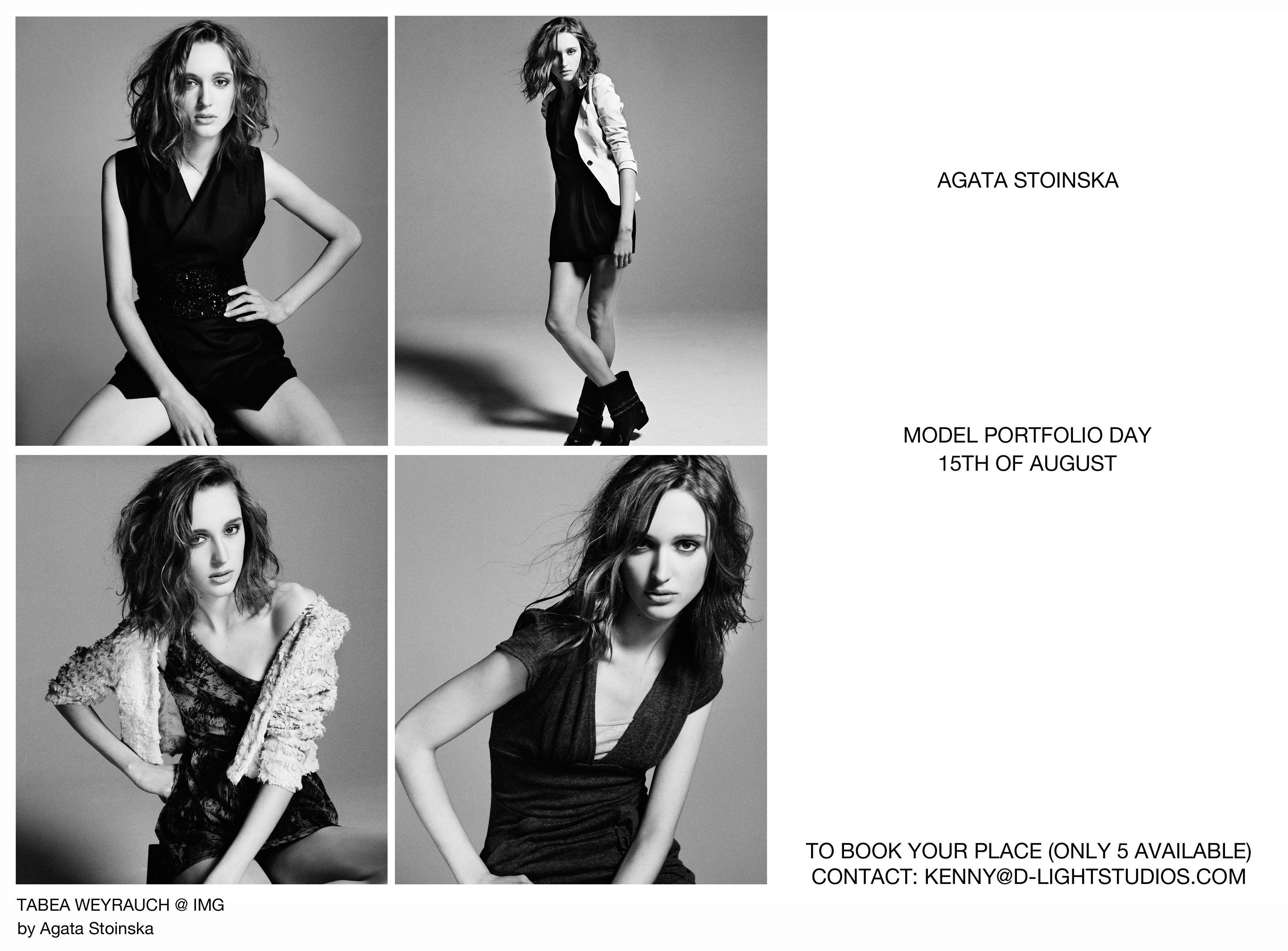 Model Portfolio day, 15th of August!! | Dlightstudios's Blog